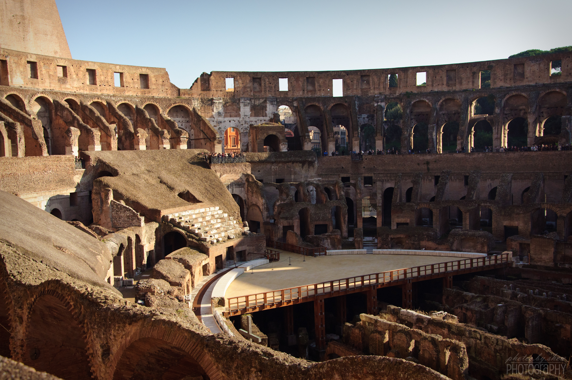 Vip Colosseum underground Tour with Rooftop Terrace