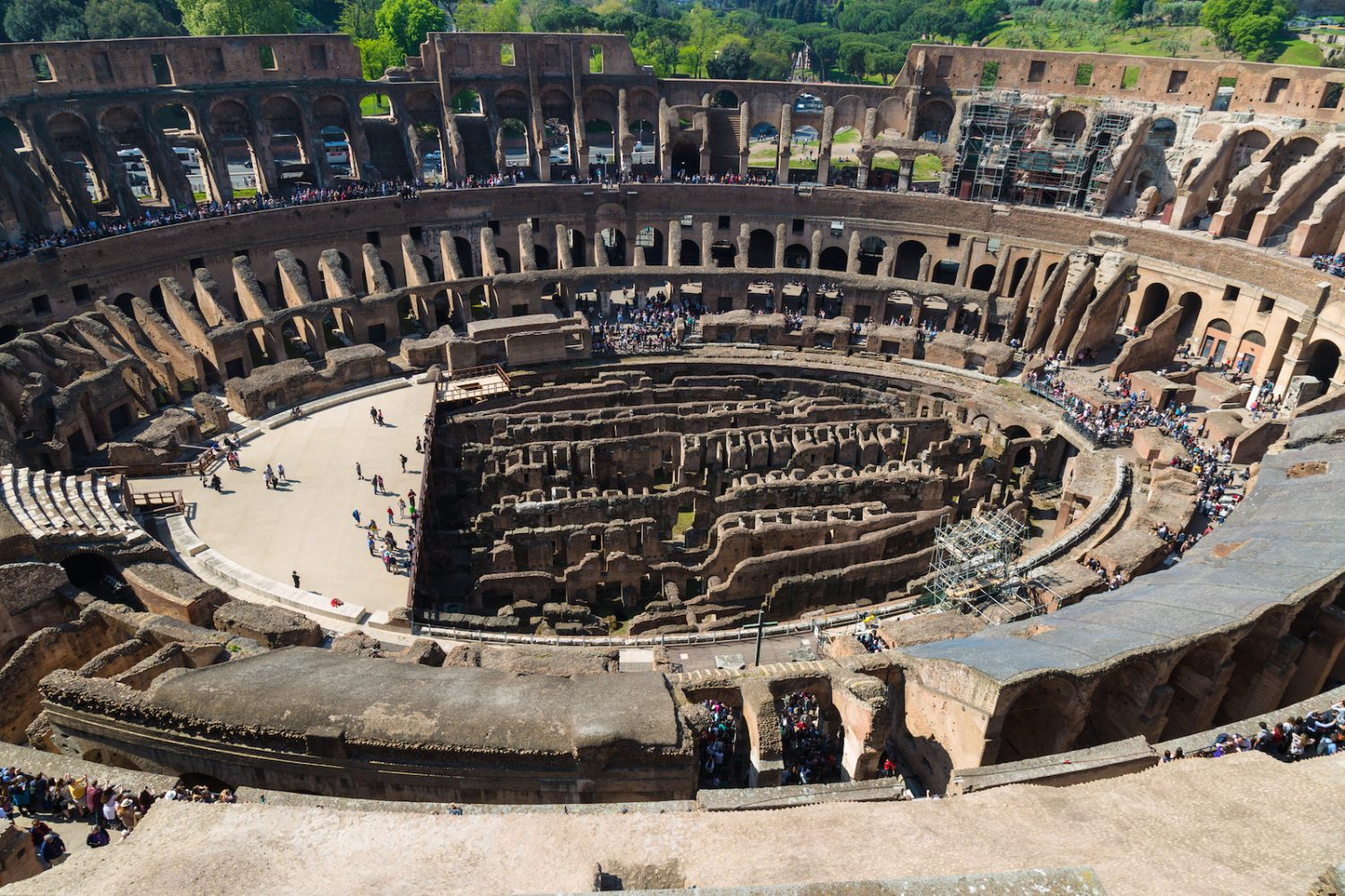 Exclusive VIP Colosseum Underground Tour with Rooftop Terrace